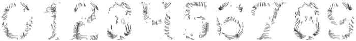 Hawaii Beach Texture FX otf (400) Font OTHER CHARS