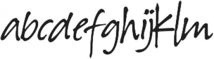 Hawaiian Script otf (400) Font LOWERCASE