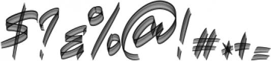 Hawkeyes SVG Regular otf (400) Font OTHER CHARS