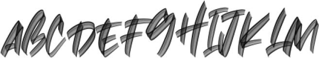 Hawkeyes SVG Regular otf (400) Font UPPERCASE