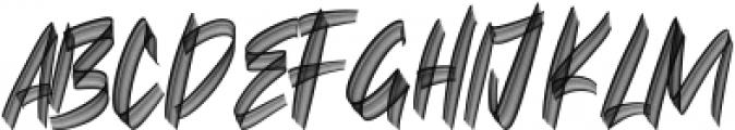 Hawkeyes SVG Regular otf (400) Font LOWERCASE