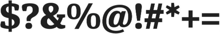 Hawking Bold otf (700) Font OTHER CHARS