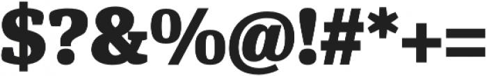 Hawking Extrabold otf (700) Font OTHER CHARS