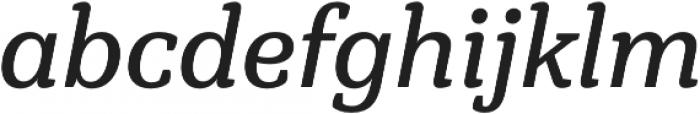 Hawking Regular It otf (400) Font LOWERCASE