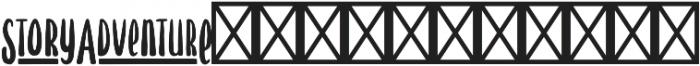 Hawthorne Extras otf (400) Font UPPERCASE