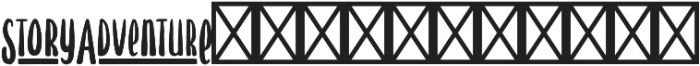 Hawthorne Extras otf (400) Font LOWERCASE