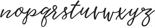 Hawthorne Script Alternates otf (400) Font LOWERCASE
