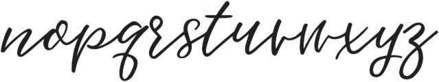 Hawthorne Script otf (400) Font LOWERCASE