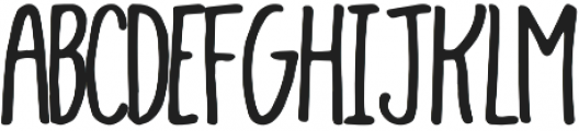 Hayden otf (400) Font LOWERCASE