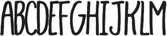 Hayden ttf (400) Font LOWERCASE