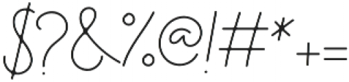 Hayley Signature otf (400) Font OTHER CHARS