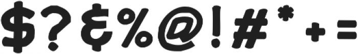 Hayne Script Sans Bold otf (700) Font OTHER CHARS