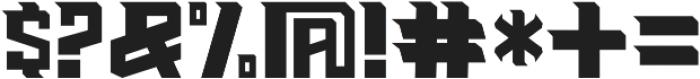 Haynthams Sans ttf (400) Font OTHER CHARS