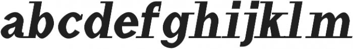 Haytham Black Italic otf (900) Font LOWERCASE