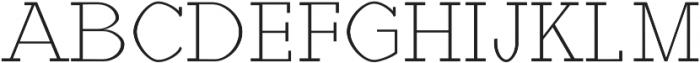 Haytham Light otf (300) Font UPPERCASE