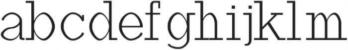 Haytham Light otf (300) Font LOWERCASE