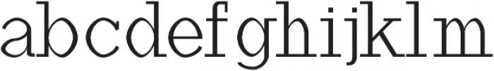 Haytham otf (400) Font LOWERCASE