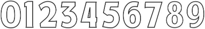 Haythem Three Regular otf (400) Font OTHER CHARS