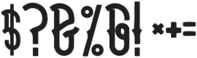 halays Bold otf (700) Font OTHER CHARS