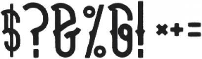 halays Regular otf (400) Font OTHER CHARS