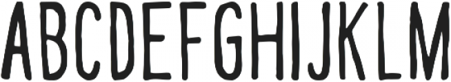 handy ttf (700) Font UPPERCASE