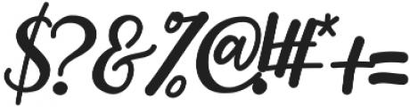 hardgraft ttf (400) Font OTHER CHARS