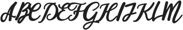 hardgraft ttf (400) Font UPPERCASE
