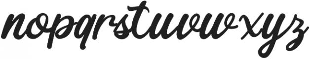 hardgraft ttf (400) Font LOWERCASE