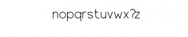 Harbinger.ttf Font LOWERCASE