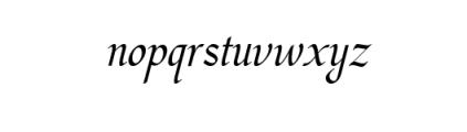 Hargalia.otf Font LOWERCASE