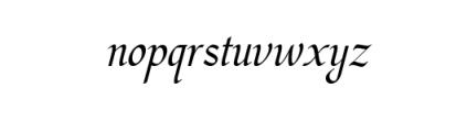 Hargalia.ttf Font LOWERCASE
