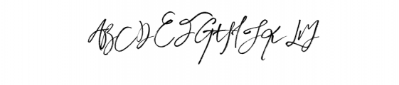 Harmonyking-Regular.otf Font UPPERCASE
