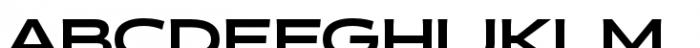 Halogen Flare Black Font UPPERCASE