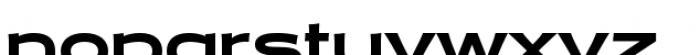 Halogen Flare Black Font LOWERCASE