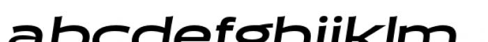 Halogen Flare Bold Oblique Font LOWERCASE