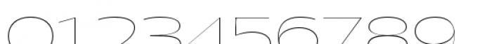 Halogen Flare Hairline Font OTHER CHARS
