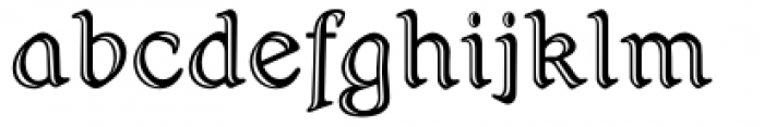 Hamlet Handtooled Regular Font LOWERCASE