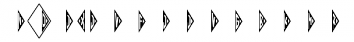 Harolds Monograms Font OTHER CHARS