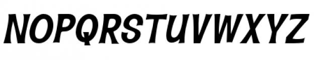 Hawaiian Aloha BTN Bold Oblique Font UPPERCASE