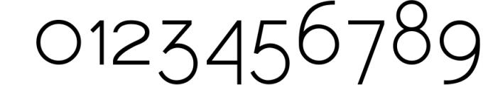 HARBINGER, sans serif font Font OTHER CHARS