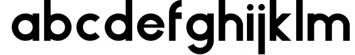 HAUS Sans Bold Font LOWERCASE