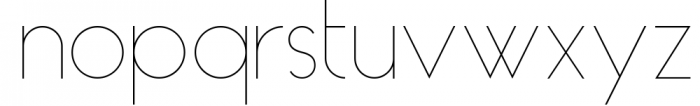 HAUS Sans - Family 11 Font LOWERCASE
