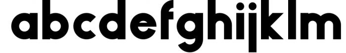 HAUS Sans - Family 3 Font LOWERCASE