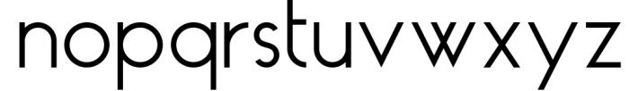 HAUS Sans - Family 9 Font LOWERCASE