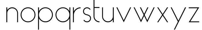 HAUS Sans Light 1 Font LOWERCASE