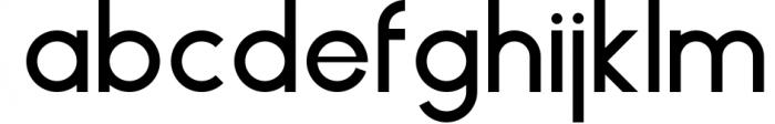 HAUS Sans Medium Font LOWERCASE