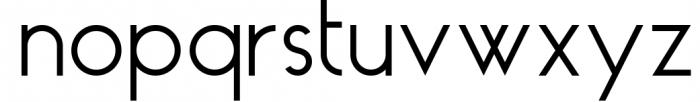 HAUS Sans Regular Font LOWERCASE