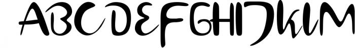 Hamburger Typeface Font UPPERCASE