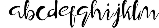 Hamburger Typeface Font LOWERCASE