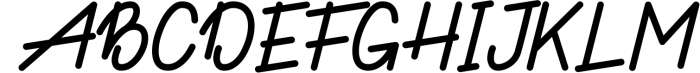 Hamilton Funny Typeface Font UPPERCASE